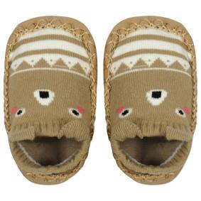 Детские носки с антискользящей подошвой Мишка (код товара: 45727): купить в Berni