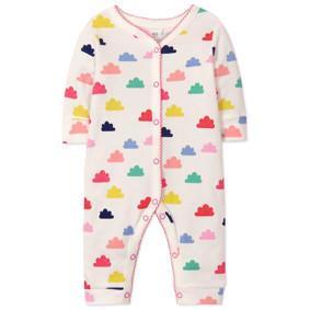 Комбинезон для девочки Цветные облака (код товара: 45767): купить в Berni