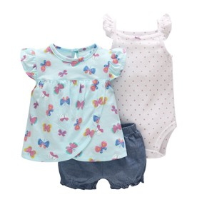 Комплект для девочки 3 в 1 Бабочка оптом (код товара: 45781): купить в Berni