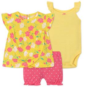Комплект для девочки 3 в 1 Цветок (код товара: 45782): купить в Berni