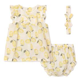 Комплект для девочки 3 в 1 Лимон (код товара: 45791): купить в Berni