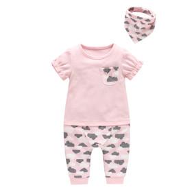 Комплект для девочки 3 в 1 Облака оптом (код товара: 45762): купить в Berni