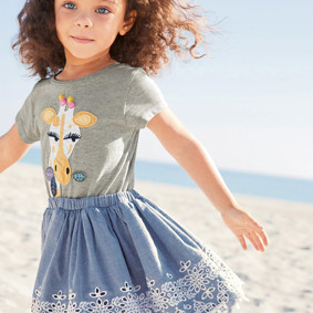 Костюм 2 в 1 для девочки Жираф (код товара: 45724): купить в Berni