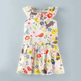 Платье для девочки Птичка (код товара: 45720): купить в Berni