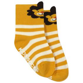 Детские антискользящие носки Лев (код товара: 45813): купить в Berni
