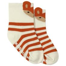 Детские антискользящие носки Лиса оптом (код товара: 45814)