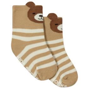 Детские антискользящие носки Мишка (код товара: 45817): купить в Berni