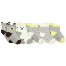 Детские антискользящие носки Мишка (5 пар) оптом (код товара: 45805)