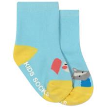 Дитячі антиковзні шкарпетки Лисиця та кролик оптом (код товара: 45801)