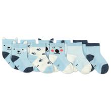 Дитячі антиковзні шкарпетки Песик (5 пар) оптом (код товара: 45803)