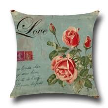 Подушка декоративна Квітка кохання 45 х 45 см оптом (код товара: 45851)