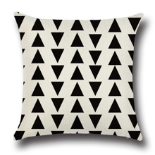 Подушка декоративна Малі трикутники 45 х 45 см оптом (код товара: 45847)