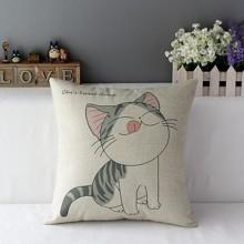Подушка декоративна Щасливе кошеня 45 х 45 см (код товара: 45871)