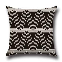 Подушка декоративна Трикутники 45 х 45 см оптом (код товара: 45849)