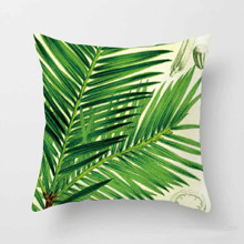 Подушка декоративная Финиковая пальма 45 х 45 см оптом (код товара: 45827)