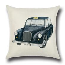 Подушка декоративная Лондонское такси 45 х 45 см оптом (код товара: 45863)