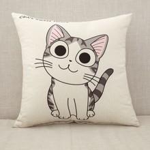 Подушка декоративная Милый котенок 45 х 45 см оптом (код товара: 45870)