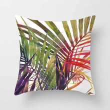 Подушка декоративная Пальмовые листья 45 х 45 см оптом (код товара: 45826)