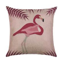 Подушка декоративная Розовый фламинго 45 х 45 см (код товара: 45896)