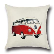 Подушка декоративная Volkswagen T1 45 х 45 см оптом (код товара: 45858)