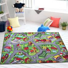 Килимок для дитячої кімнати Карта міста 150 х 200 см оптом (код товара: 45989)