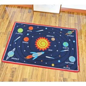 Коврик для детской комнаты Астрономия 100 х 130 см (код товара: 45991): купить в Berni