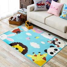 Коврик для детской комнаты Добрые зверята 100 х 130 см (код товара: 45979)