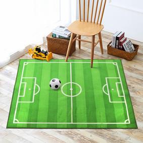 Коврик для детской комнаты Футбол 100 х 130 см (код товара: 45990): купить в Berni