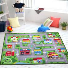 Коврик для детской комнаты Город 133 х 190 см оптом (код товара: 45988)