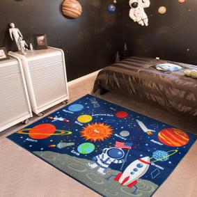 Коврик для детской комнаты Миссия Аполлон 100 х 130 см (код товара: 45992): купить в Berni