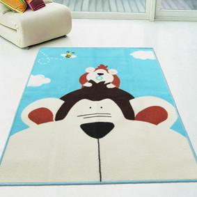 Коврик для детской комнаты Обезьяна 100 х 130 см (код товара: 45978): купить в Berni