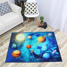Коврик для детской комнаты Планеты 100 х 130 см (код товара: 45993)