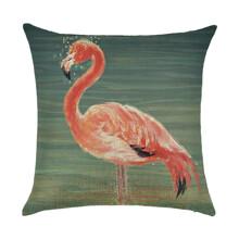 Подушка декоративная Фламинго в воде 45 х 45 см (код товара: 45900)