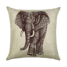 Подушка декоративная Индийский слон 45 х 45 см (код товара: 45901)