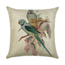 Подушка декоративная Попугай 45 х 45 см (код товара: 45915)