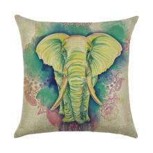 Подушка декоративная Слон 45 х 45 см оптом (код товара: 45902)