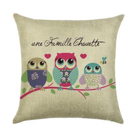 Подушка декоративная Совиная семья 45 х 45 см (код товара: 45933): купить в Berni