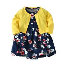 Комплект для девочки 2 в 1 Цветы (код товара: 46086)