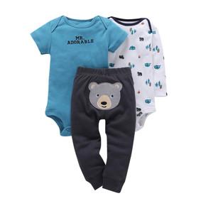 Комплект для хлопчика 3 в 1 Ведмедик (код товару: 46083): купити в Berni