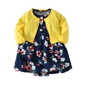 Костюм для девочки 2 в 1 Цветы (код товара: 46086): купить в Berni
