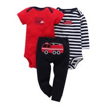 Костюм для мальчика 3 в 1 Пожарная машина (код товара: 46074)