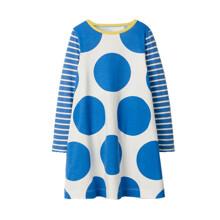 Платье для девочки Большой горошек (код товара: 46052)