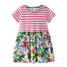 Платье для девочки Цветущие джунгли (код товара: 46050)