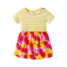 Платье для девочки Цветы оптом (код товара: 46051)