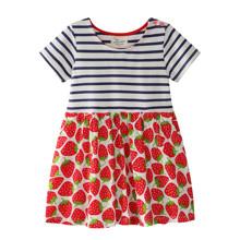 Платье для девочки Клубника (код товара: 46088)