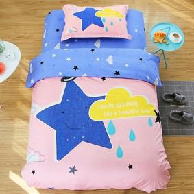 Уценка (дефекты)! Комплект постельного белья Ночное небо (полуторный) (код товара: 46026): купить в Berni