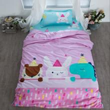 Уценка (дефекты)! Комплект постельного белья С днем рождения, Кролик! (полуторный) (код товара: 46027)