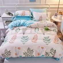 Уценка (дефекты)! Комплект постельного белья Травы (двуспальный-евро) (код товара: 46023)