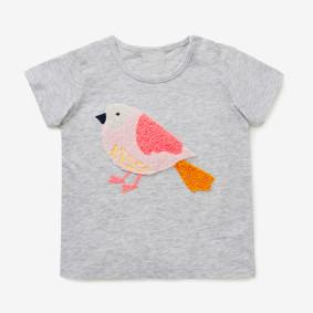 Футболка для девочки Птичка (код товара: 46185): купить в Berni