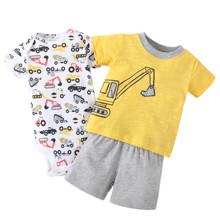 Комплект для мальчика 3 в 1 Экскаватор (код товара: 46104)